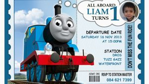 Thomas the Train Birthday Invites 9 Train Birthday Invitations for Kid Free Printable
