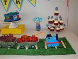 Thomas the Train Birthday Party Decorations Thomas the Train Birthday Party Ideas Photo 3 Of 28