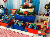 Thomas the Train Birthday Party Decorations Thomas the Train Birthday Quot Train and Balloons Quot Catch