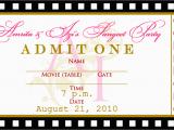 Ticket Birthday Invitation Template Free Templates for Birthday Invitations Drevio