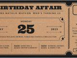 Ticket Birthday Invitation Template Ticket Invitation Template 54 Free Psd Vector Eps Ai