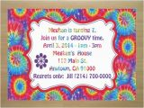 Tie Dye Birthday Party Invitations Tie Dye Birthday Party Invitations Dolanpedia
