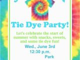 Tie Dye Birthday Party Invitations Tie Dye Party Fundiy Show Off Diy Decorating and Home