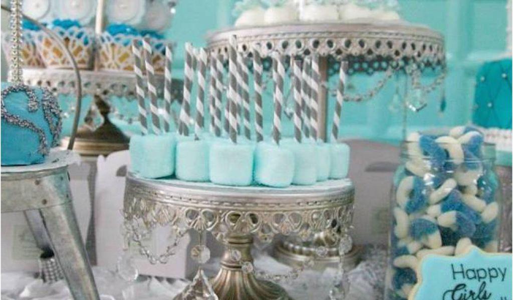 Tiffany Birthday Decorations Kara 39 S Party Ideas Tiffany Co