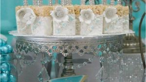 Tiffany Birthday Decorations Kara 39 S Party Ideas Tiffany Co Inspired Birthday Party