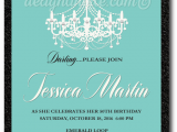 Tiffany Blue Birthday Invitations Breakfast at Tiffany 39 S Chandelier 50th Birthday