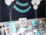 Tiffany Blue Birthday Party Decorations Kara 39 S Party Ideas Breakfast at Tiffany 39 S Birthday Party