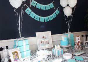 Tiffany Blue Birthday Party Decorations Kara 39 S Ideas Breakfast At