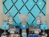 Tiffany Blue Birthday Party Decorations Tiffany Blue and Black Bling