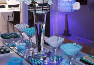 Tiffany Blue Birthday Party Decorations Table For A Photograph Share