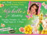 Tinkerbell 1st Birthday Invitations Tinker Bell Birthday Party Invitatiion Ideas Bagvania