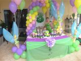 Tinkerbell Birthday Decoration Ideas Tinkerbell Party Kaylee 39 S Parties Pinterest