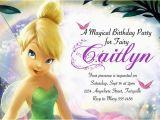 Tinkerbell Birthday Invites Tinkerbell Birthday Invitation Free