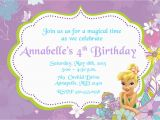 Tinkerbell Birthday Invites Tinkerbell Birthday Invitations Best Party Ideas