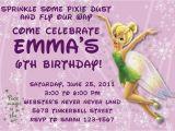 Tinkerbell Birthday Invites Tinkerbell Birthday Invitations Customizable Printable
