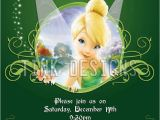 Tinkerbell Birthday Invites Tinkerbell Fairy Invitation Birthday Party Favors Ebay