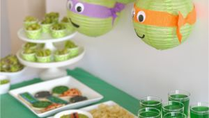Tmnt Birthday Decorations Tmnt Party Creative Juice