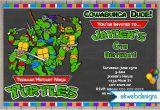Tmnt Birthday Invitations Free Free Printable Ninja Turtle Birthday Party Invitations