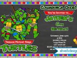 Tmnt Birthday Invitations Free Free Printable Ninja Turtle Birthday Party Invitations