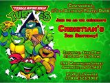 Tmnt Birthday Invitations Free Ninja Turtle Birthday Party Invitations Free Printable