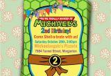 Tmnt Birthday Invitations Free Printable Teenage Mutant Ninja Turtles Birthday