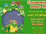 Tmnt Birthday Invites Free Printable Teenage Mutant Ninja Turtles Birthday