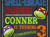 Tmnt Birthday Invites Party Invitation Templates Ninja Turtle Party Invitations