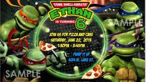 Tmnt Birthday Invites Tmnt Teenage Mutant Ninja Turtles Invitation Printable
