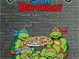 Tmnt Birthday Invites Tmnt Teenage Mutant Ninja Turtles Movie Birthday