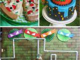 Tmnt Birthday Party Decorations Kara 39 S Party Ideas Teenage Mutant Ninja Turtles Party