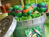 Tmnt Birthday Party Decorations Kara 39 S Party Ideas Teenage Mutant Ninja Turtles Party with