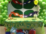 Tmnt Birthday Party Decorations Ninja Turtle Bday Table Decoration Party Decorations