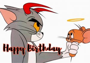 Tom And Jerry Birthday Card Free Greeting Cards