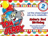 Tom and Jerry Birthday Invitations tom and Jerry Birthday Invitations Dolanpedia