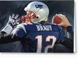 Tom Brady Birthday Card New England Patriots Birthday Card tom Brady Birthday Card