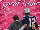 Tom Brady Birthday Card tom Brady and Bill Belichick Valentine 39 S Day Card