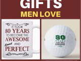 Top Birthday Gifts for Him 2019 80th Birthday Gifts for Men Best 80th Birthday Gift