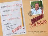Top Secret Birthday Invitations 26 Surprise Birthday Invitation Templates Free Sample