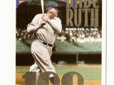 Topps Babe Ruth 100th Birthday Card Teamsets4u Item 509311 1995 Conlon Tsn Babe Ruth