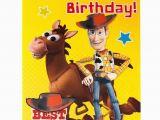 Toy Story Birthday Cards Disney toy Story Bullseye Woody Best In the West Happy