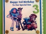 Toy Story Birthday Cards Personalised toy Story Birthday Card by Onebeaudesigns On Etsy