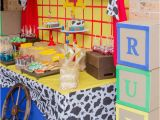 Toy Story Birthday Party Decoration Ideas toy Story Cowboy Cowgirl Birthday Party Ideas Photo