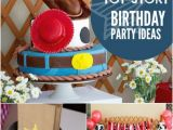 Toy Story Decorations for Birthday Party A toy Story Inspired Joint Birthday Party Spaceships and