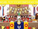 Toy Story Decorations for Birthday Party Cowgirl toy Story Birthday Party Ideas Cowgirl toy