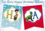 Toy Story Happy Birthday Banner toy Story Happy Birthday Banner toy Story Bunting Birthday