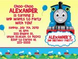 Train Birthday Card Printable attractive Thomas the Train Birthday Invitation Ideas