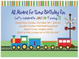 Train Birthday Card Printable Train Invitation Templates Free