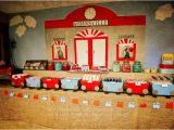 Train Decorations for Birthday Party Kara 39 S Party Ideas Vintage Train Station Birthday Party