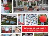 Train Decorations for Birthday Party Stylish Childrens Parties Choo Choo Train Birthday Party