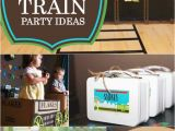 Train Decorations for Birthday Party Tips for Planning A Train themed Birthday Party the